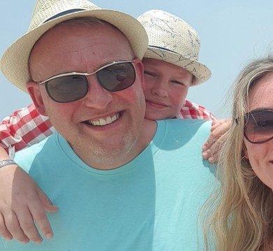 Mark Woodward and Family